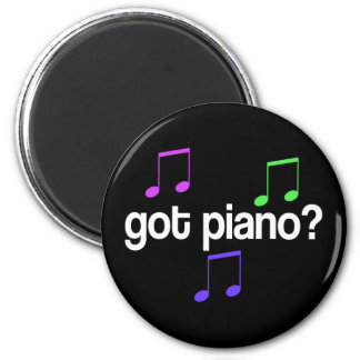 Pretty Got Piano Musical Gift Magnet