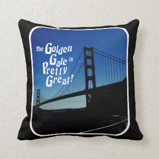 Pretty Great Golden Gate Bridge Throw Pillow