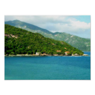 "Pretty Haiti 16"" x 12"", Value Poster (Matte)"