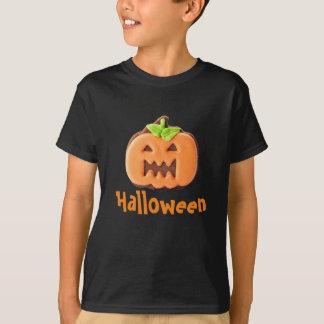 Pretty Halloween Orange Pumpkin T-Shirt