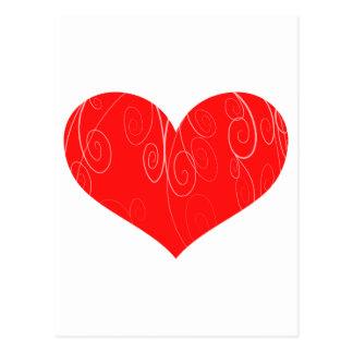 Pretty Hearts Postcard