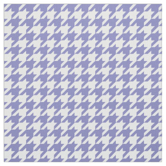 Pretty Heather and White Hounds Tooth Fabric