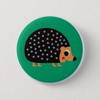 Pretty hedgehog 2 inch round button