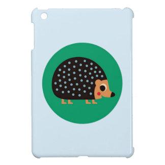 Pretty hedgehog iPad mini cover