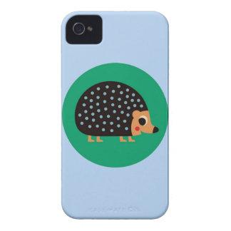 Pretty hedgehog iPhone 4 cover