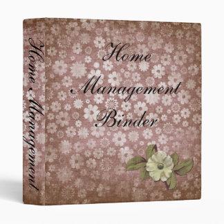 Pretty Home Management Binder