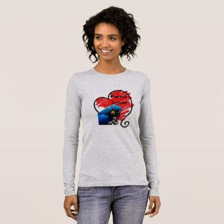 Pretty Hyacinth Parrot II Long Sleeve T-Shirt