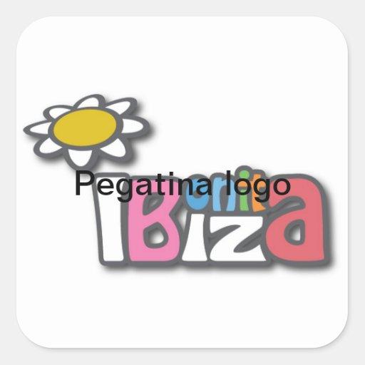 pretty Ibiza sticker daisy