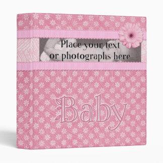 Pretty in Pink Baby Binder