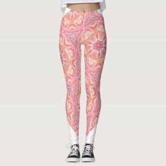 Pretty in Pink Bohemian Spirit Leggings