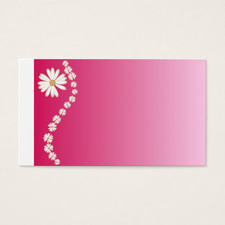 pretty in pink business card