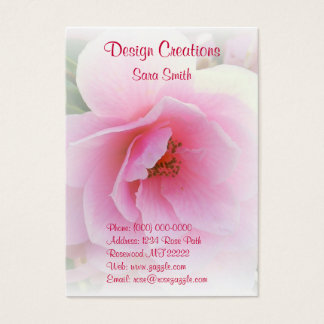 Pretty in Pink Business Cards