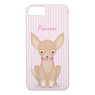 Pretty in Pink Chihuahua iPhone 8/7 Case