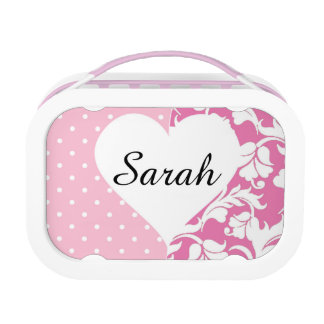 Pretty in Pink Custom Lunchbox