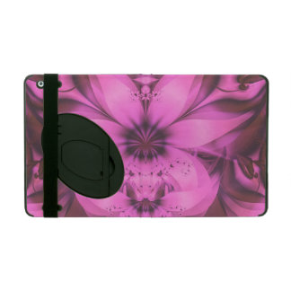 Pretty in Pink Fractal Flower Star-Shaped Petunias iPad Case