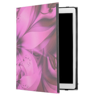 "Pretty in Pink Fractal Flower Star-Shaped Petunias iPad Pro 12.9"" Case"