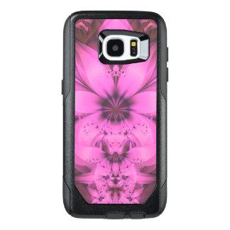 Pretty in Pink Fractal Flower Star-Shaped Petunias OtterBox Samsung Galaxy S7 Edge Case