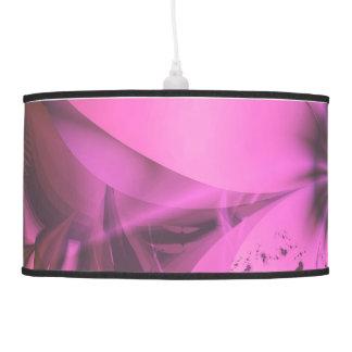Pretty in Pink Fractal Flower Star-Shaped Petunias Pendant Lamp