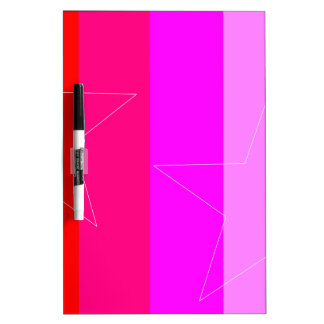 PRETTY IN PINK - GIRL'S RULE DRY ERASE BOARDS
