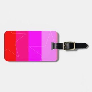 PRETTY IN PINK - GIRL'S RULE LUGGAGE TAG