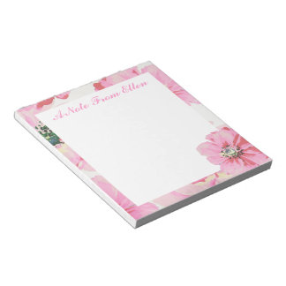 Pretty in Pink Notepad