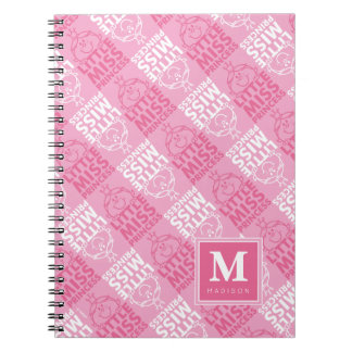 Pretty In Pink Pattern | Add Your Name Spiral Notebook