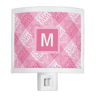 Pretty In Pink Pattern | Monogram Nite Lite