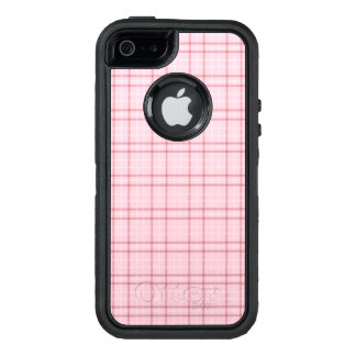 Pretty in Pink Plaid OtterBox iPhone 5/5s/SE Case
