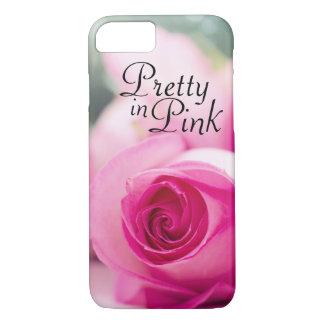 Pretty in Pink Rose Case-Mate iPhone Case