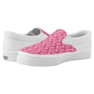 Pretty in Pink Slip-On Sneakers