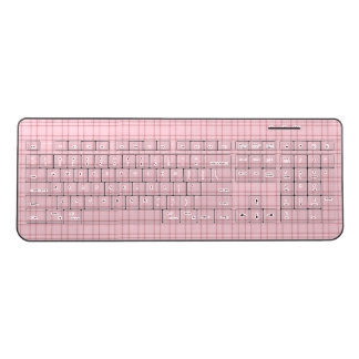 Pretty In Pink Wireless Keyboard