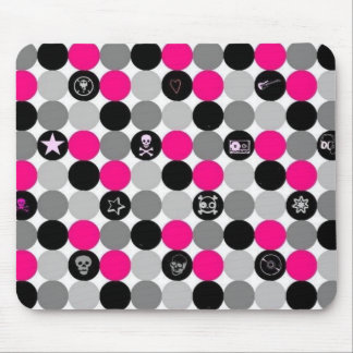 pretty in punk mouse pad