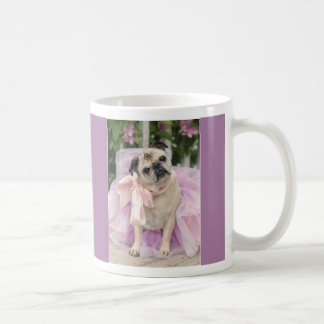 Pretty in Purple Pug Mug