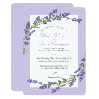 Pretty in Purple | Wedding Invitation