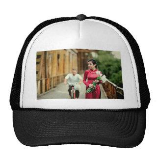 Pretty in Red Trucker Hat