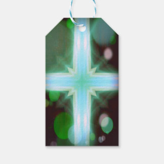Pretty Inspirational Cross Shaped Pattern Pack Of Gift Tags