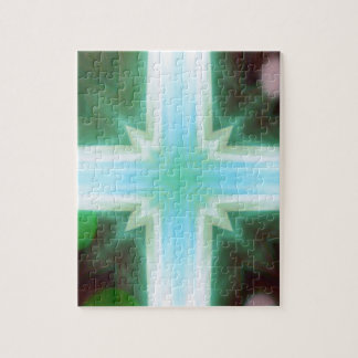 Pretty Inspirational Cross Shaped Pattern Puzzle