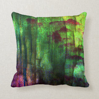 Pretty Iridescent Abstract Design Pillow