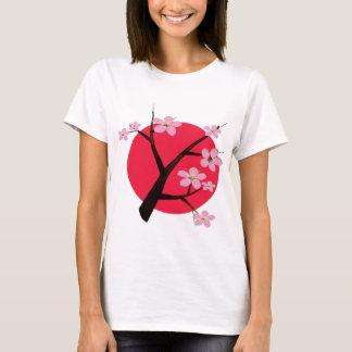 Pretty Japanese Cherry Blossom T-Shirt