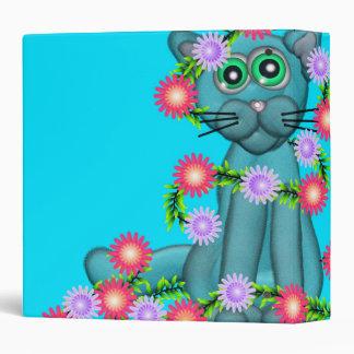 Pretty Kitty 3-Ring Binder