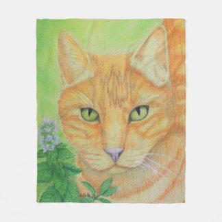 Pretty Kitty Fleece Blanket