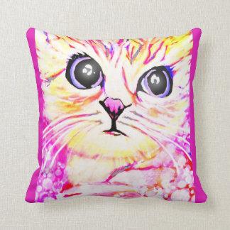 Pretty Kitty Throw Pillow