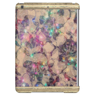 Pretty Lace Roses Cover For iPad Air