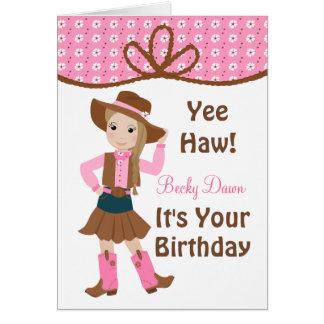 Pretty Lil' Cowgirl Card