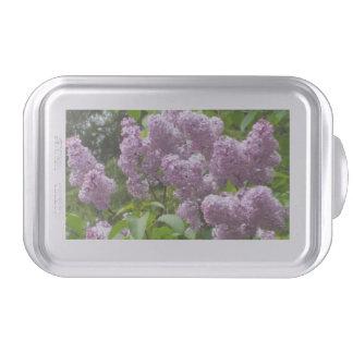 Pretty Lilac Bush Baking Pan