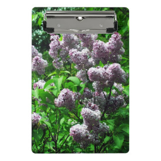 Pretty Lilac Bush Mini Clipboard