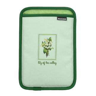 Pretty Lily of the Valley iPad Mini Sleeve
