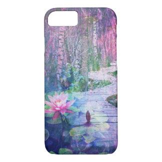 Pretty Lily Pad Fantasy Forest Bridge Case