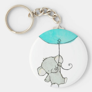 Pretty Little Adorable Elephant Keychain