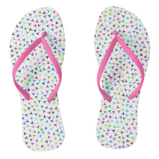 Pretty Little Arrows Design Flip Flops